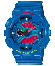 "Load image into Gallery viewer, Casio G SHOCK ""HYPER COLOR"" Series GA-110HC (Blue)"