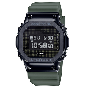 "Casio G Shock 2019AW ""STAINLESS STEEL CASE"" Series GM-5600B (Army Green)"