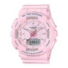 "Load image into Gallery viewer, Casio G SHOCK S-Series ""STEP TRACKER"" Series GMA-S130 (Pink)"