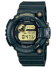 "Load image into Gallery viewer, Casio G SHOCK 25th Anniversary ""DAWN BLACK"" Frogman GW-225A"