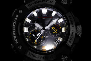 "Casio G SHOCK 2020 x ""FIRST ANALOG FROGMAN"" With Bluetooth® GWF-A1000-1A"