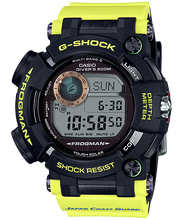 "Load image into Gallery viewer, Casio G SHOCK x ""JAPAN COAST GUARD"" 70th Anniversary Frogman GWF-D1000JCG"