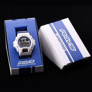 "Casio G SHOCK x ""RAYS"" Wheels 3rd Edition DW-6900FS 2017 Limited Edition"