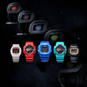 "Casio G Shock 2020 CN Exclusive x ""FIVE TIGER GENERALS"" Water Series ""ZHANG FEI"" GX-56SGZ (Special Helmet Box)"