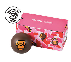 COMING SOON Casio Baby-G x BABY MILO® STORE by A Bathing Ape BA-130RG-4APRMILO
