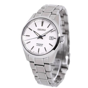 "Seiko PRESAGE 2020 ""Sharp Edged Series"" SPB165J1 (WHITE)"