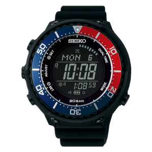 "Seiko PROSPEX ""LOWERCASE FIELDMASTER"" Digital Solar Power SBEP003"
