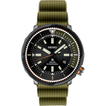 "Load image into Gallery viewer, Seiko 2020 PROSPEX ""STREET SERIES"" (Green) Solar Power SNE547P1"