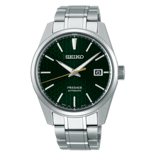 "Load image into Gallery viewer, Seiko PRESAGE 2020 ""Sharp Edged Series"" SPB169J1 (GREEN)"