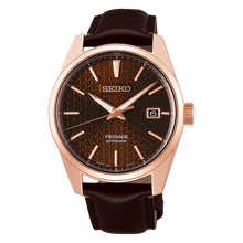 "Load image into Gallery viewer, Seiko PRESAGE 2020 ""Sharp Edged Series"" SPB170J1 (ROSE GOLD)"