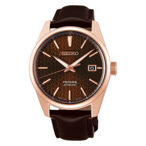 "Seiko PRESAGE 2020 ""Sharp Edged Series"" SPB170J1 (ROSE GOLD)"