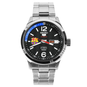 "Seiko Sport 5 x ""BARCELONA"" Automatic Watch SRP301K1"