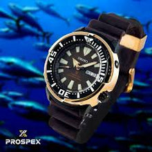 "Load image into Gallery viewer, Seiko PROSPEX Asia Exclusive ""Yellow Fin Tuna"" Automatic Watch SRPD14K1"
