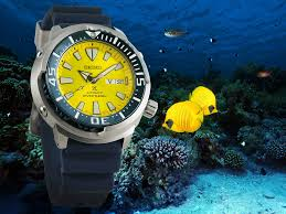 "Seiko PROSPEX Asia Exclusive ""Blue Butterfly Fish"" Automatic Watch SRPD15K1"