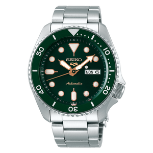 "Seiko 2019 Automatic 5 Series ""AMRY GREEN"" Model SRPD63K1 Metal"