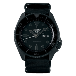 "Seiko 2019 Automatic 5 Series ""BLACKOUT"" Model SRPD79K1"