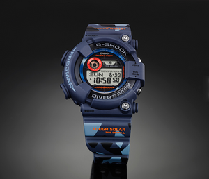 "Casio G SHOCK ""MEN IN CAMOUFLAGE"" Frogman GF-8250CM"