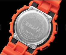 "Load image into Gallery viewer, COMING SOON Casio G-SHOCK 2020SS x ""DRAGON BALL Z"" ドラゴンボール Z GA-110JDB-1A4"