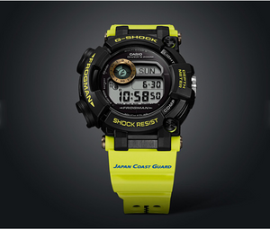 "Casio G SHOCK x ""JAPAN COAST GUARD"" 70th Anniversary Frogman GWF-D1000JCG"