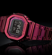 "Load image into Gallery viewer, Casio G Shock 2021 ""METAL SERIES"" GMW-B5000RD-4 (Maroon)"