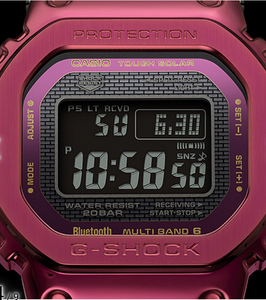 "Casio G Shock 2021 ""METAL SERIES"" GMW-B5000RD-4 (Maroon)"
