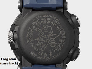 "Casio G SHOCK 2020 x ""FIRST ANALOG FROGMAN"" With Bluetooth® GWF-A1000-1A4"