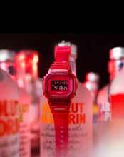 "Load image into Gallery viewer, Casio G SHOCK x ""ABSOLUT. VODKA"" Special Vodka Box DW-5600SB-3PRABS"