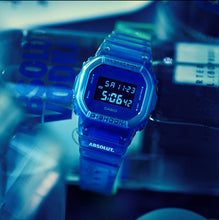 "Load image into Gallery viewer, Casio G SHOCK x ""ABSOLUT. VODKA"" Special Vodka Box DW-5600SB-2PRABS"