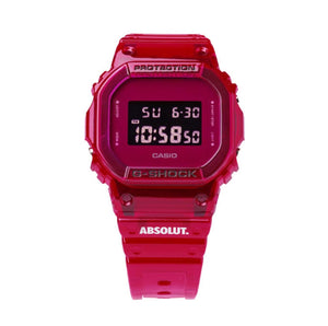 "Casio G SHOCK x ""ABSOLUT. VODKA"" Special Vodka Box DW-5600SB-3PRABS"