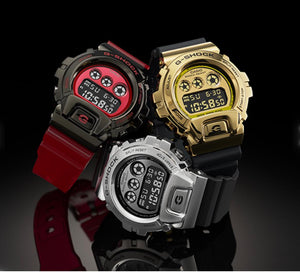 "Casio G SHOCK 2020SS ""METAL BEZEL"" Series GM-6900 (Steel)"