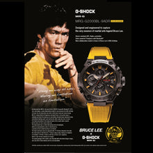 "Load image into Gallery viewer, Casio G SHOCK 2020 MR-G x ""BRUCE LEE"" 80th Birthday Anniversary MRG-G2000BL"