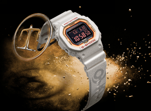 "Casio G Shock 2020 CN Exclusive x ""FIVE TIGER GENERALS"" Earth Series ""Zhao Yun"" GW-B5600SGZ (Special Helmet Box)"