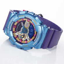 Load image into Gallery viewer, Casio G SHOCK S-Series Blue x Purple GMA-S110MP