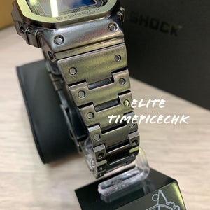 "Casio G shock ""BLACK AGED IP TREATMENT"" Full Metal GMW-B5000V"