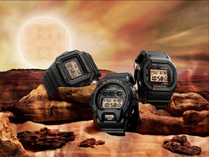 "Casio G SHOCK 30th Anniversary ""RESIST BLACK"" Series GW-5530C"
