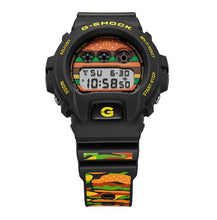 "Load image into Gallery viewer, Casio G SHOCK x ""McDONALD'S"" BIG MAC 50th Anniversary DW-6900FS"