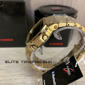 "Casio G Shock ""METAL SERIES"" GMW-B5000GD (GOLD METAL)"
