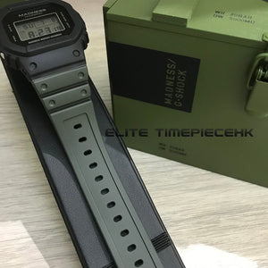 "Casio G SHOCK 35th Anniversary x ""MADNESS"" DW-5000MD Military Box Edition"