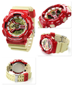 "Casio G SHOCK ""CRAZY COLOR"" Ironman GA-110CS"