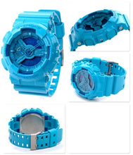 "Load image into Gallery viewer, Casio G SHOCK ""HYPER COLOR"" Series GA-110B (Blue)"