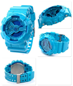 "Casio G SHOCK ""HYPER COLOR"" Series GA-110B (Blue)"