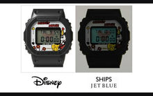 "Load image into Gallery viewer, Casio G SHOCK x ""DISNEY MICKEY MOUSE"" & ""JAM HOME MADE"" & ""SHIPS JET BLUE"" DW-5600VT"