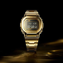 "Load image into Gallery viewer, Casio G shock ""DREAM PROJECT 1 of 35"" 18-Karat Solid Gold G-D5000"