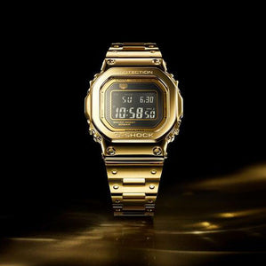 "Casio G shock ""DREAM PROJECT 1 of 35"" 18-Karat Solid Gold G-D5000"