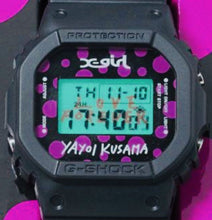 "Load image into Gallery viewer, Casio G-SHOCK x ""X-GIRL"" & ""KUSAMA YAYOI"" DW-5600VT"