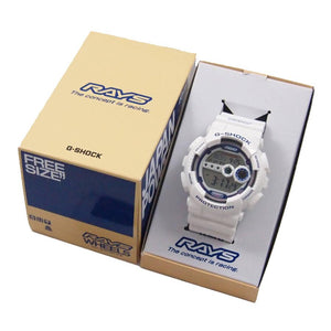 "Casio G SHOCK x ""RAYS"" Wheels 1st Edition GD-100 2015 Limited Edition"