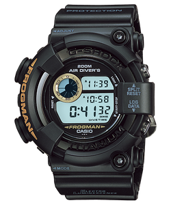 "Casio G SHOCK ""MEN IN BLACK"" Frogman DW-8200BM"