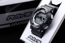 "Casio G SHOCK x ""RAYS"" Wheels 2nd Edition GD-100 2016 Limited Edition"
