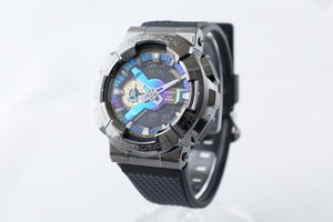 Casio G Shock 2020 GM 110 ANALOG-DIGITAL with Metal Case Series GM-110B-1A (Black)