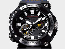 "Load image into Gallery viewer, Casio G SHOCK 2020 x ""FIRST ANALOG FROGMAN"" With Bluetooth® GWF-A1000-1A"